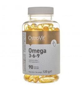 OstroVit Omega 3-6-9 - 90 kapsułek