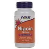 Now Foods Niacin (Niacyna) 500 mg - 100 tabletek