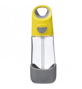 B.Box Tritanowa butelka ze słomką Lemon Sherbet - 450 ml