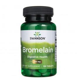 Swanson Bromelina 100 mg - 100 tabletek