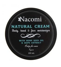 Nacomi Naturalny krem dla mężczyzn - 100 ml