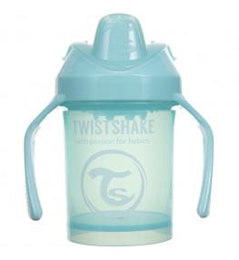 Twistshake Kubek niekapek z mikserem Niebieski 4 m+ - 230 ml