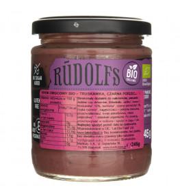 Rudolfs Krem owocowy truskawka - czarna porzeczka - 245 g