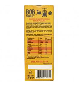 Bob Snail Przekąska jabłko - dynia bez dodatku cukru - 30 g
