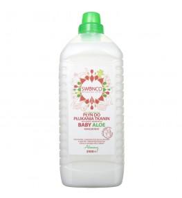 Swonco Baby Aloe Płyn do płukania tkanin dla dzieci i niemowląt - 2000 ml