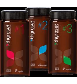 Norsa Pharma Thyroset - 3 x 45 kapsułek