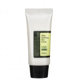 COSRX Aloe Soothing Sun Cream SPF 50+ krem przeciwsłoneczny - 50 ml