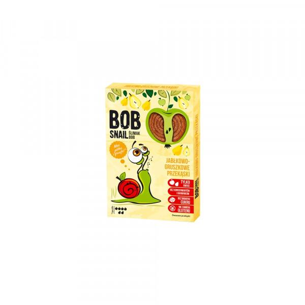 Bob Snail Przekąska jabłkowo-gruszkowa bez dodatku cukru - 60 g