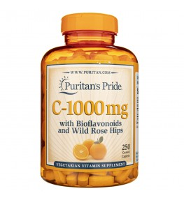 Puritan's Pride Witamina C z bioflawonoidami 1000 mg - 250 tabletek
