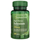 Puritan's Pride Selen 200 mcg - 100 tabletek