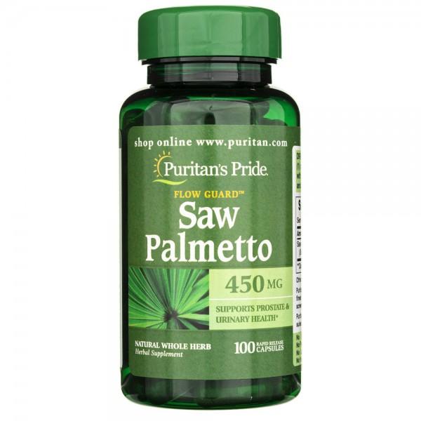Puritan's Pride Palma Sabałowa 450 mg - 100 kapsułek
