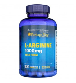 Puritan's Pride L-Arginina 1000 mg - 100 kapsułek