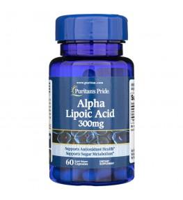 Puritan's Pride Kwas Alfa Liponowy 300 mg - 60 kapsułek