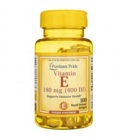 Puritan's Pride Witamina E-180 mg (400 IU) - 100 kapsułek