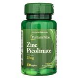 Puritan's Pride Cynk Pikolinian - 100 tabletek