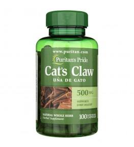 Puritan's Pride Koci Pazur (Cat's Claw) 500 mg - 100 kapsułek