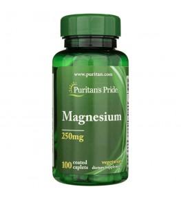 Puritan's Pride Magnez 250 mg - 100 tabletek
