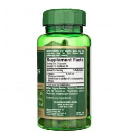 Puritan's Pride Cordyceps 750 mg - 60 kapsułek