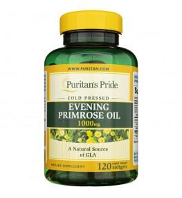 Puritan's Pride Evening Primrose Oil (Olej z wiesiołka) 1000 mg - 120 kapsułek