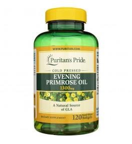 Puritan's Pride Evening Primrose Oil (Olej z wiesiołka) 1300 mg - 120 kapsułek
