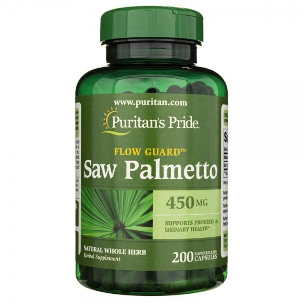 Puritan's Pride Palma Sabałowa 450 mg - 200 kapsułek
