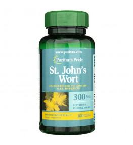 Puritan's Pride Dziurawiec (standaryzowany) 300 mg - 100 kapsułek