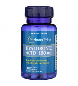 Puritan's Pride Kwas Hialuronowy 100 mg - 60 kapsułek