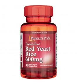 Puritan's Pride Czerwony ryż drożdżowy 600 mg - 30 kapsułek