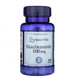 Puritan's Pride Niacynamid 500 mg - 100 tabletek