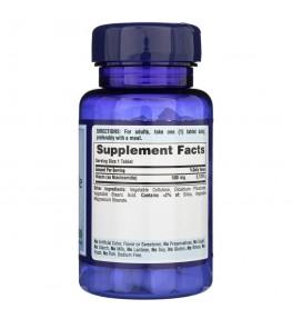 Puritan's Pride Niacynamid 500 mg - 100 tabletek
