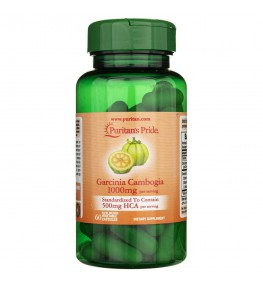 Puritan's Pride Garcinia Cambogia 1000 mg - 60 kapsułek