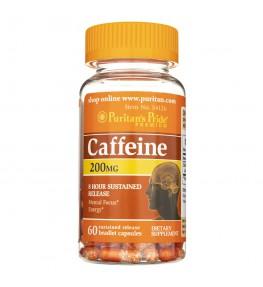 Puritan's Pride Caffeine (Kofeina) 200 mg - 60 kapsułek
