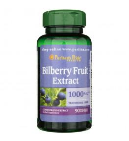 Puritan's Pride Ekstrakt z owoców borówki czarnej 1000 mg - 90 kapsułek