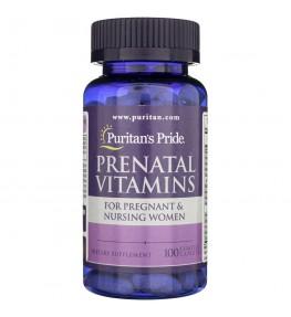 Puritan's Pride Witaminy Prenatalne - 100 tabletek