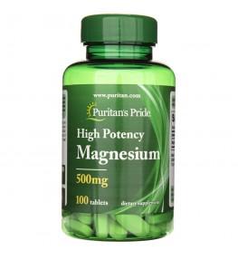 Puritan's Pride Magnez 500 mg - 100 tabletek