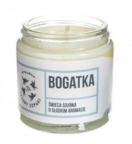 Cztery Szpaki Bogatka naturalna świeca sojowa, kwiatowa - 100 g