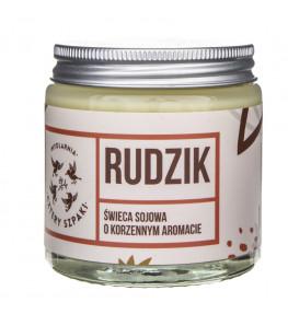 Cztery Szpaki Rudzik naturalna świeca sojowa, korzenna - 100 g