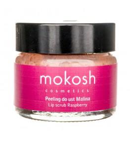 Mokosh Peeling do ust Malina - 15 ml