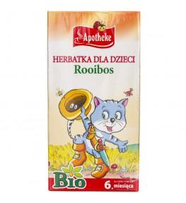 Apotheke Herbatka Bio dla dzieci Rooibos - 20 saszetek