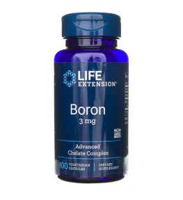 Life Extension Bor 3 mg - 100 kapsułek