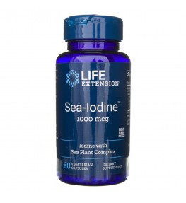 Life Extension Sea-Iodine (Jod Morski) - 120 kapsułek