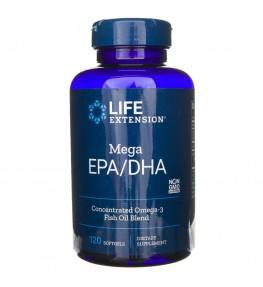 Life Extension Mega EPA / DHA - 120 kapsułek
