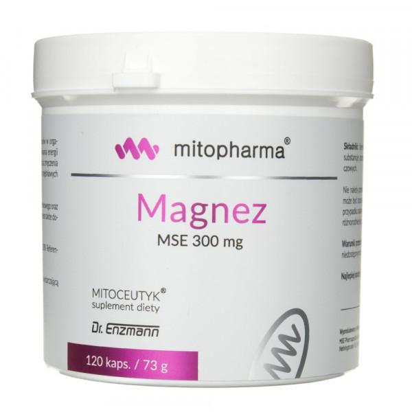 Dr. Enzmann Magnez MSE 300 mg - 120 kapsułek