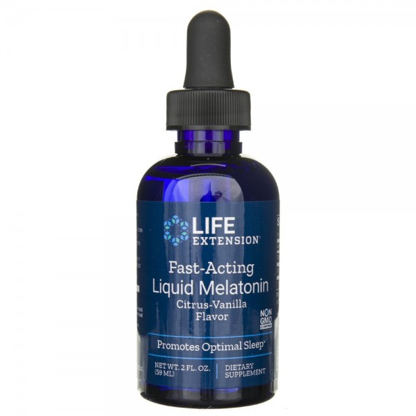 Life Extension Melatonina w płynie - 59 ml