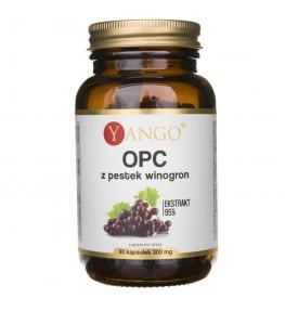 Yango OPC 95% ekstrakt z pestek winogron - 90 kapsułek