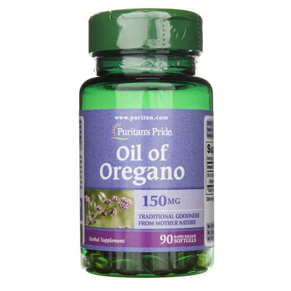 Puritan's Pride Olejek z Oregano 150 mg - 90 kapsułek