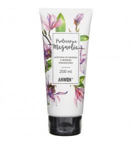 Anwen Odżywka do włosów o średniej porowatości Proteinowa Magnolia - 200 ml