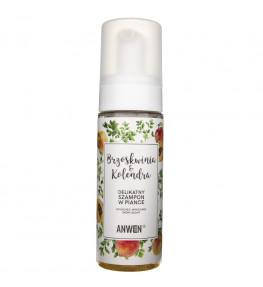 Anwen Szampon - pianka sucha i wrażliwa skóry głowy Brzoskwinia i Kolendra - 170 ml