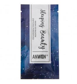 Anwen Maska do włosów nocna wysoka porowatość Sleeping Beauty w saszetce - 10 ml