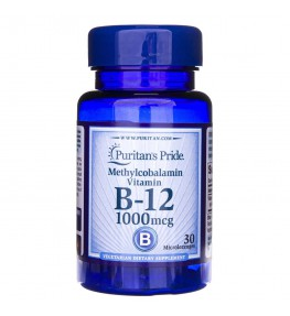 Puritan's Pride Witamina B-12 1000 mcg - 30 tabletek